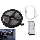12V 90W 1020-LED Light Strip Cool White Light w/ 6-Key Remote (5m)