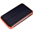 "Sungzu ""30000mAh"" Solar Powered Dual USB Li-Polymer Battery Power Bank w/ LED / Flashlight - Orange"
