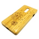 Dandelion Pattern Detachable Bamboo Back Case for Oneplus Two - Yellow