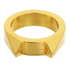 FURA Cat's Ear Zinc Alloy Broken Window Ring - Golden