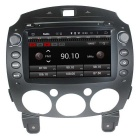 "LsqSTAR 8"" HD Android 4.4 Car DVD Player w/ GPS Wi-Fi AUX SWC Bluetooth Mirrorlink For Mazda 2"