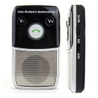Solar Powered Bluetooth Handsfree Car Charging Speakerphone