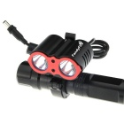 FandyFire Super-bright XM-L2 T6 2000lm 3-Mode Bicycle Lamp (6 x 18650)