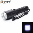 ZHISHUNJIA HW31-T6 900lm 5-Mode White Zooming Flashlight - Black