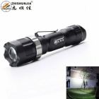 ZHISHUNJIA X109-Q5 LED XP-E Q5 400lm 3-Mode White Light Flashlight w/ Clip - Black (1 x 14500)