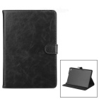 Protective PU Leather Case w/ Stand for IPAD MINI 4 - Black