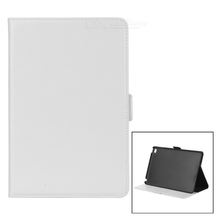 Oil Pattern Protective PU Case Cover w/ Stand for IPAD MINI 4 - White