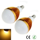 E14 9W 1000lm 3000K 10-SMD 5630 LED Warm White Light Bulb (85~265V 2PCS)