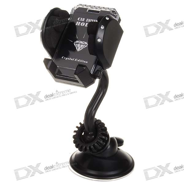 Universal Car Mount Holder for PDA Cell Phones/MP3/MP4/GPS (3.5~9cm)