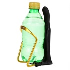SAHOO Outdoor Cycling Aluminum Alloy Bike Water Holder - Yellow