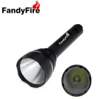 FandyFire  XHP-70 1-LED 5-Mode 3000lm Flashlight with Memory - Black (3 x 18650)