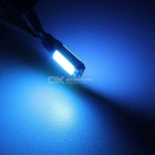MZ T10 W5W 6W Ice Blue COB LED Decode Canbus Car Air / Clearance Light