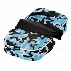 CTSmart Bike Tube Double Bag w/ Touch Screen - Blue Camouflage (2L)