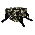 CTSmart Bicycle Bike Triangle Top Tube Bag - Green Camouflage (1.5L)