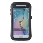 Waterproof Protective TPU + Silicone + PEC Case for Samsung S6 / S6 Edge - Black + Transparent