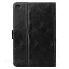 Oil Pattern Protective PU Case Cover w/ Stand for IPAD MINI 4 - Black