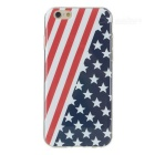 Graphic TPU Back Case for IPHONE 6S - Red + Blue