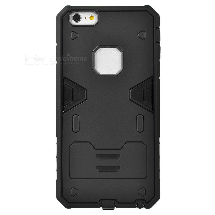 Power Rangers Style TPU + PC Case for IPHONE 6S PLUS - Black