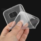 S-What 0.3mm TPU Back Case for Samsung S6 Edge - Translucent White