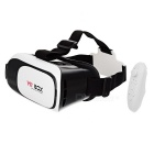 VR BOX Enhanced Version Virtual Reality Glasses w/ BT Mouse - Black