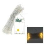3W 50-LED Christmas Decorative String Light Warm White 3500K (5m / 4.5V)