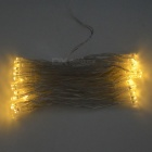 3W 50-LED Decorative String Light Warm White 3500K - White (5m)