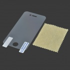 LCD Screen Protector with Cleaning Cloth for Iphone 4