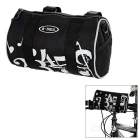 B-SOUL 3.8L Handlebar Bag / Waist Bag w/ Reflective Strip - Black