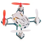 Hubsan NANO Q4 H111 4-CH Mini Remote Control R/C Quadcopter Aircraft Toy for Children - White + Red