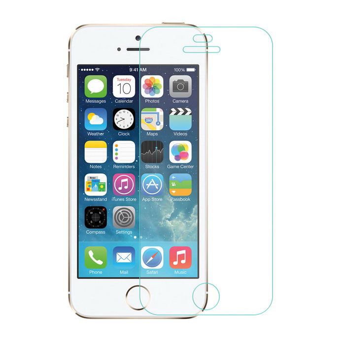 Angibabe Soft Screen Protector for IPHONE 5 / 5S / 5C - Transparent