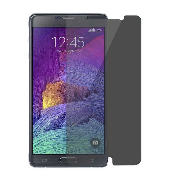Privacy Tempered Glass Film for Samsung Note 5 N9200 - Transparent
