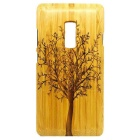Big Tree Pattern Detachable Bamboo Back Case for Oneplus 2 - Yellow