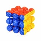 3 x 3 x 3 Educational Thread Magic IQ Cube - Multicolor