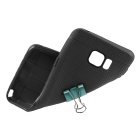 ENKAY Leather Texture TPU Back Case for Samsung Note 5 N9200 - Black