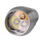 RichFire SF-382 Cool White / Warm White / Purple Flashlight - Silver