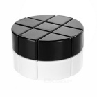 3 x 3 x 2 Cylindrical Educational Magic IQ Cube - Black + White