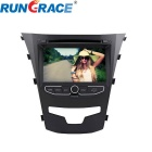 Rungrace Android 7-inch 2 Din Car DVD Player for Ssangyong Korando w/ BT, GPS, RDS, IPOD, Wi-Fi