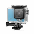 "2.0"" TFT HD 1080p 2/3"" CMOS 5MP Sports Camera w/ Wide Angle, 8X Digital Zoom - Blue"