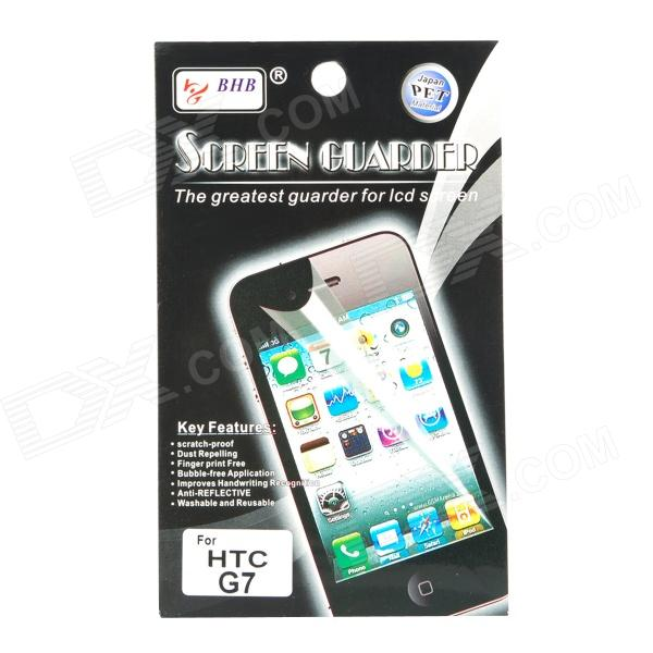 LCD Screen Protector with Cleaning Cloth for HTC Desire/G7