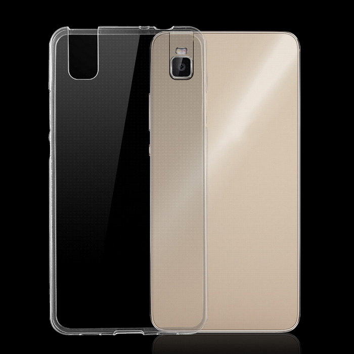 Ultra-Thin TPU Back Cover Case for Huawei Honor 7i - Transparent