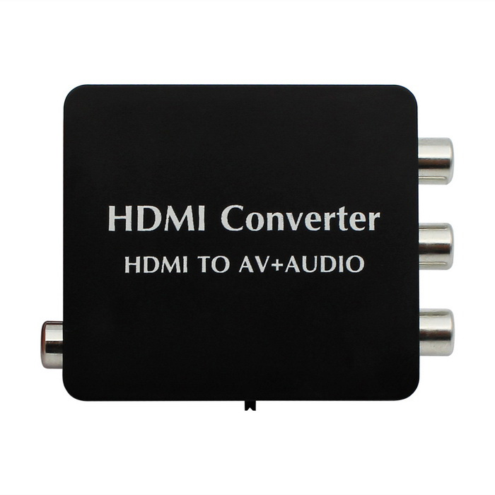 HDMI to AV + Audio Converter Support SPDIF Coaxial Audio NTSC PAL CVBS