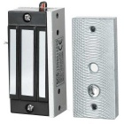 MA-60 Mini Steel Electric Magnetic Lock for Door Access Control - Black + Silver