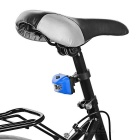 Seat Post Mounted 3-Emitter 3-Mode Bike Taillight Red Light - Blue