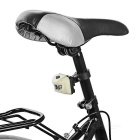 Seat Post Mounted 3-Emitter 3-Mode Bike Taillight Red Light - White