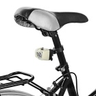 Seat Post Mounted 5-Emitter 3-Mode Bike Taillight Red Light - White