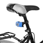 Seat Post Mounted 5-Emitter 3-Mode Bike Taillight Red Light - Blue