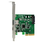 IOCREST PCI Express to USB 3.1 Type-A + Type-C Extension Card IO-PCE1142-1AC