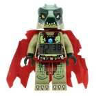 Genuine LEGO legends of chima cragger mini fig clock (CT00057)