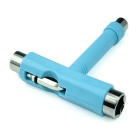 EC-PL Mini T Wrench Spanner Skateboard Scooter Longboard Tool - Blue