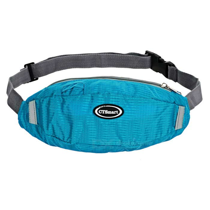 CTSmart FJ12 Multifunction Waist Bag with Reflective Strip - BlueBike Bags<br>Form ColorBlueModelFJ12Quantity1 DX.PCM.Model.AttributeModel.UnitMaterialPolyesterTypeOthers,Waist bagCapacity3 DX.PCM.Model.AttributeModel.UnitWaterproofYesGenderUnisexBest UseCycling,Mountain Cycling,Road Cycling,Others,Hiking, fishing, etc.CertificationCEPacking List1 x Waist bag<br>